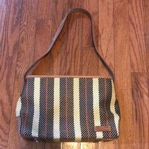 Cute Stone Mountain Patterned Women's Handbag Tan